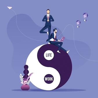 Konzept über die vereinbarkeit von arbeit und leben