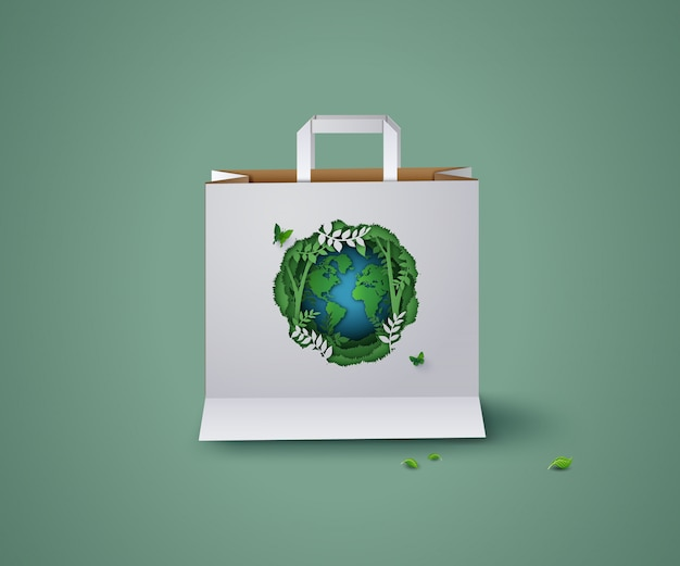 Konzept von ökologie und umwelt