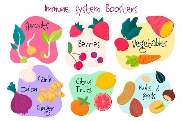 Konzept zur stärkung des immunsystems