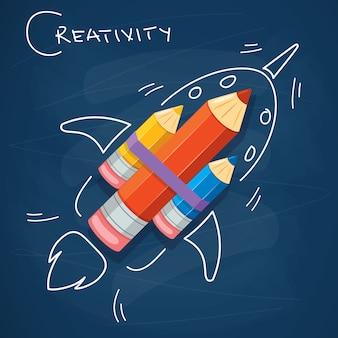 Konzeptdesign für kreatives denken