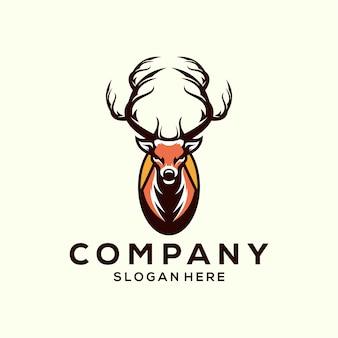 Kopf hirsch logo
