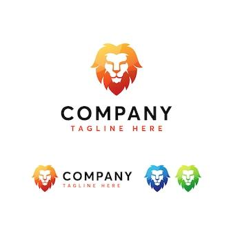 Kopf lionlogo vorlage