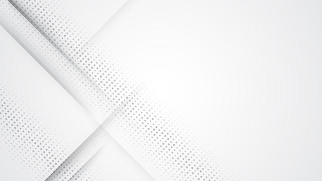Kopienraum des grauen weißen abstrakten hintergrundes des modernen entwurfs für ihren text