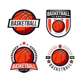 Korb-logo-abzeichen