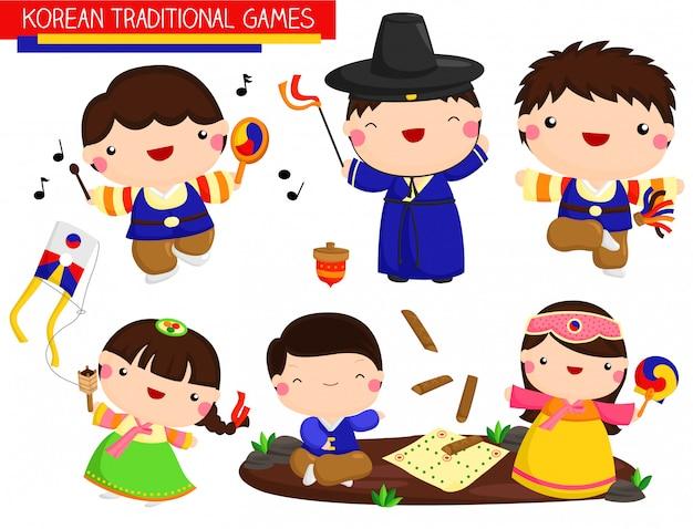 Koreanische traditionelle spiele