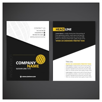Korporative ordner design