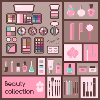 Kosmetik-elemente festlegen