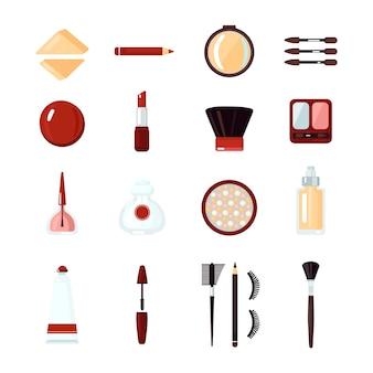 Kosmetik-icon-set