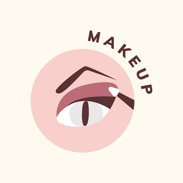 Kosmetik- und make-upikonenvektor