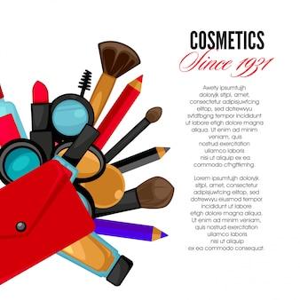 Kosmetik und modeobjekte