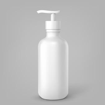 Kosmetikflasche kann sprühbehälter. spender für sahne, suppen, schäume und andere kosmetika.