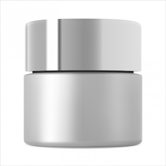 Kosmetikglas-modell. körpercreme flasche vorlage