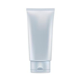 Kosmetische cremetube glänzend kosmetische produktverpackung kunststoff-zahnpastatube