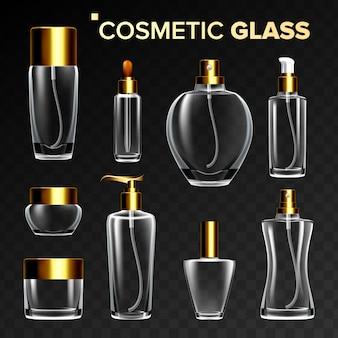 Kosmetische glasillustration