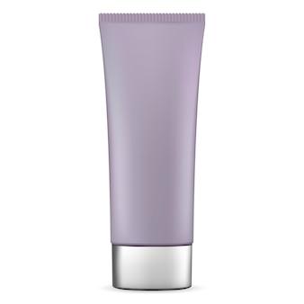 Kosmetische tube für sahne. vektor-salbenbehälter