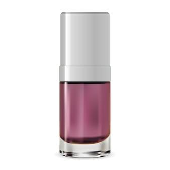 Kosmetischer serumbehälter. vektor-flasche. wesen