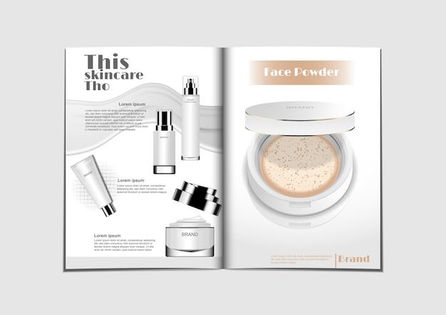 Kosmetisches magazin