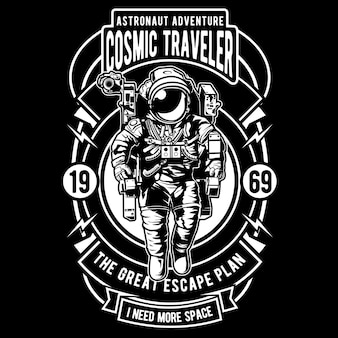 Kosmischer reisender