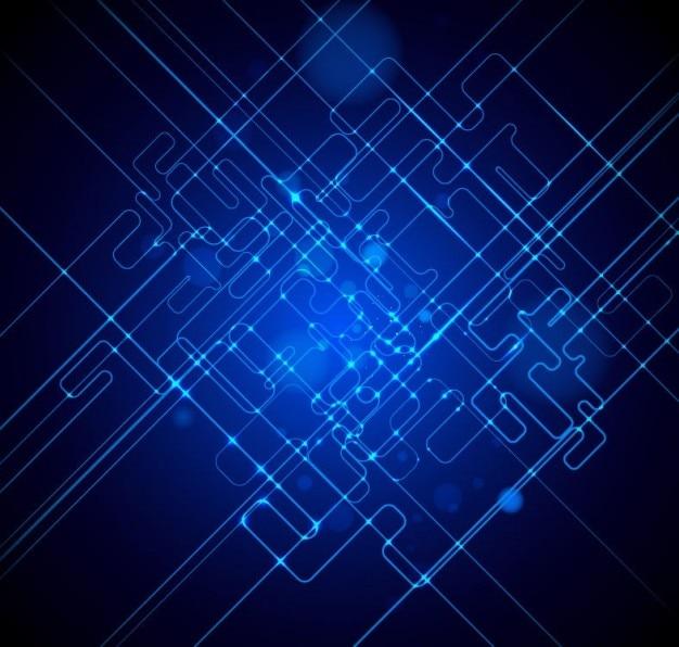Kostenlos blaue licht vektor-hintergrund