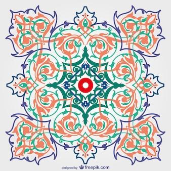 Kostenlos dekorative blumen-hintergrund-design