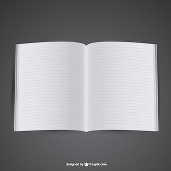 Kostenlos mockup eröffnet notebook
