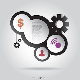 Kostenlose infografik-vorlage