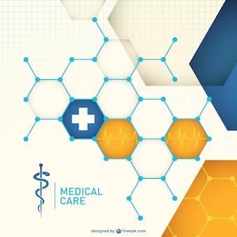 Kostenlose vektor abstrakte medizinische