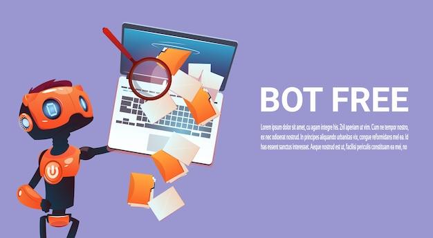 Kostenloser chat-bot, virtuelle assistenz des roboters der website oder mobiler anwendungen, artificial intell