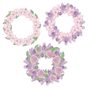 Kräte blumenblume dekorativ