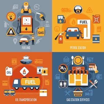 Kraftstoffpumpe-konzept-set