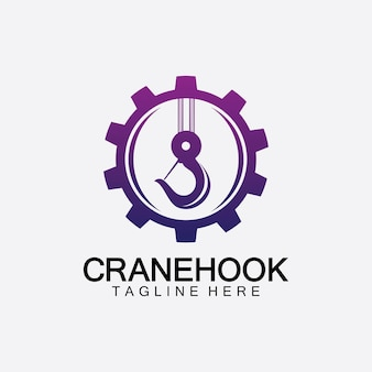 Kranhaken-logo-symbol-vektor-illustration-design-vorlage