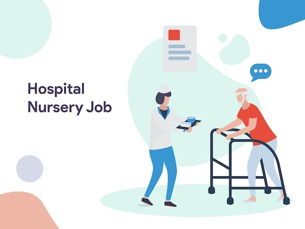 Krankenhaus-kindergarten-jobabbildung