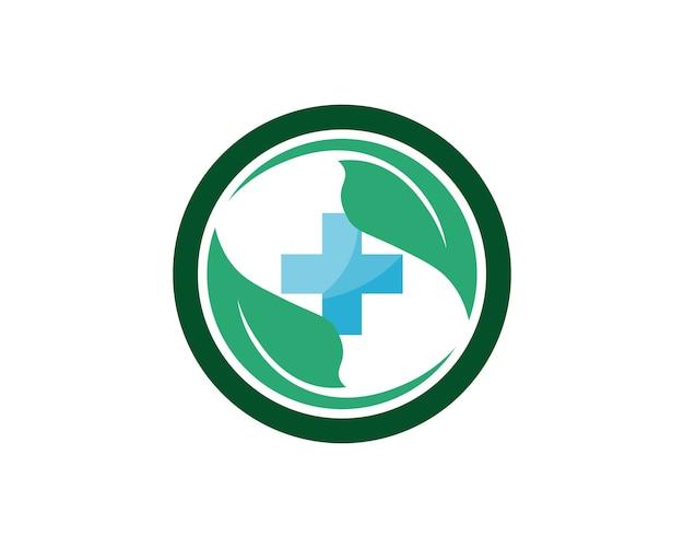 Krankenhauslogo und symbolschablonenikonen-app