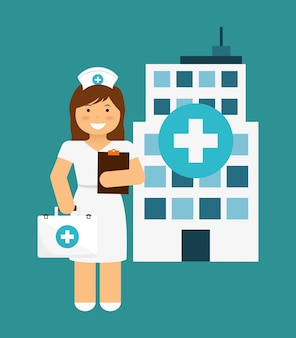 Krankenschwester design