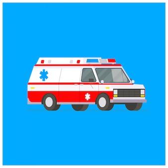 Krankenwagen-illustration