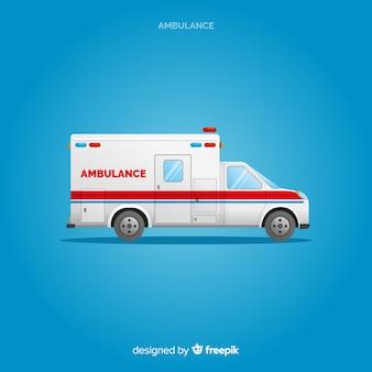 Krankenwagen-konzept