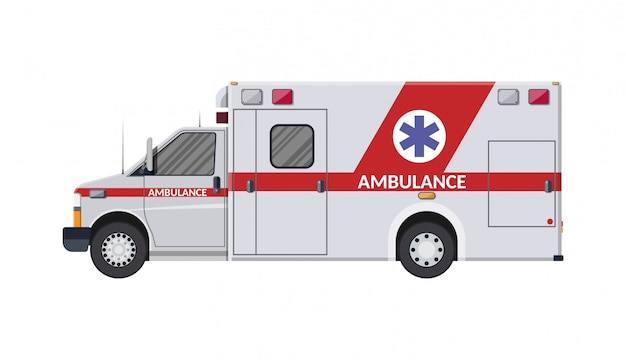 Krankenwagen-notfallfahrzeug krankenhaustransport