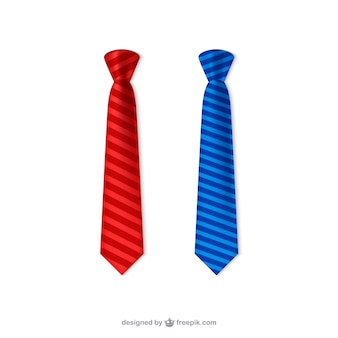 Krawatten packen