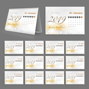 Kreativ-tischkalender 2019