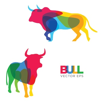 Kreative bull animal design