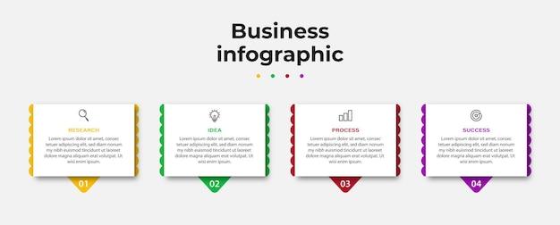 Kreative business-infografik