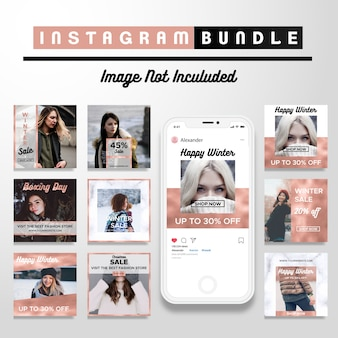 Kreative cooper discount social media post-vorlage