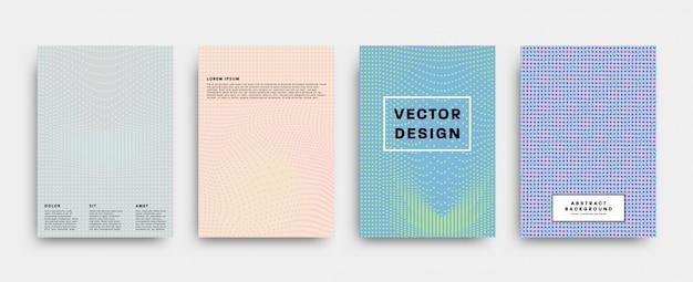 Kreative flyersammlung