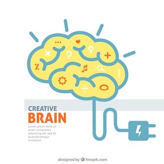 Kreative gehirn