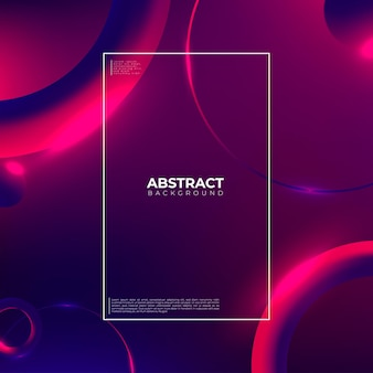 Kreative geometrische tapete. trendy farbverlauf formt komposition.
