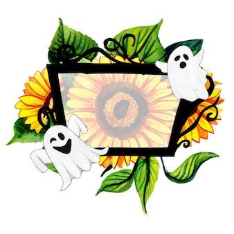 Kreative halloween namensschilder