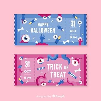 Kreative halloween-tickets