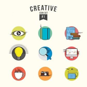 Kreative icons set