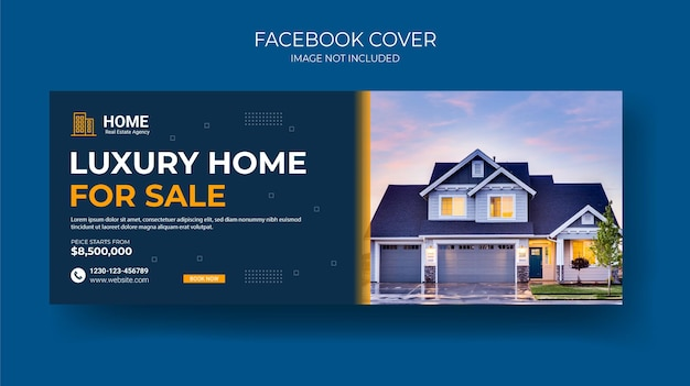 Kreative immobilien facebook cover timeline banner design