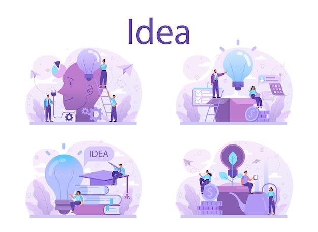 Kreative innovation und brainstorming